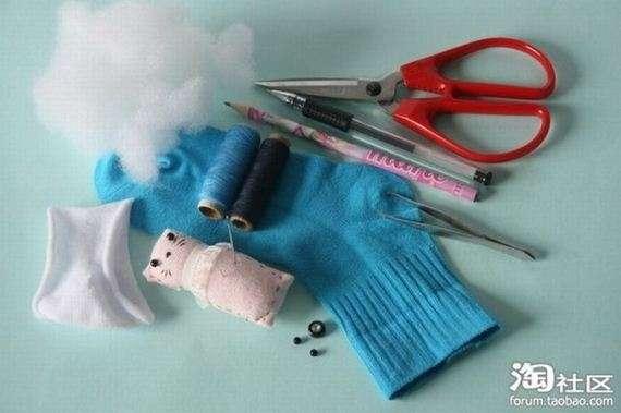 39710584 - Manual para hacer ositos de peluche con calcetines viejos
